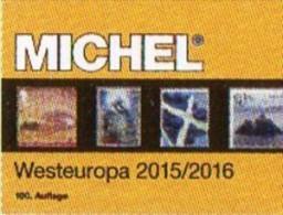 West-Europe MICHEL Part 6 Catalogue 2015/2016 New 66€ Belgien EIRE Luxemburg Niederlande UK GB Jersey Guernsey Man Wales - Advertising