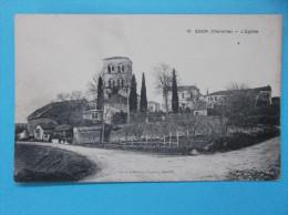 16 : EDON : L'EGLISE :  C.P.A. Carte En Trés Bon état  , - Chiese E Cattedrali