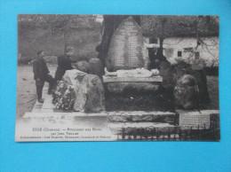 16 : ESSE : MONUMENT Aux MORTS :  C.P.A. Carte En Trés Bon état  , Animée - France