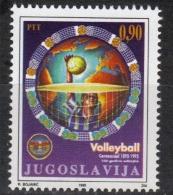 Yugoslavia,100 Years Of Volleyball 1995.,MNH - 1992-2003 Federal Republic Of Yugoslavia