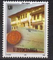 Yugoslavia,Stamp Day 1995.,MNH - 1992-2003 Federal Republic Of Yugoslavia