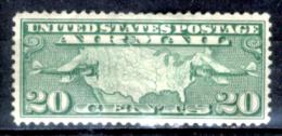 Stati-Uniti-0099 -1926/1927 - Unificato, N.A9 (++) MNH - Privo Di Difetti Occulti. - Air Mail