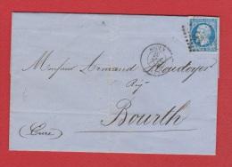 Lettre  //  De Rouen //  Pour Bourth //  20 Novembre 1859 - Marcophilie (Lettres)