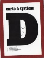 """ILLUSTRATEUR JM PETEY CARTOGAG N° 4  """" CARTE À SYSTÈME  """" DEDICACÉE CP SUR LA CP - Petey"""