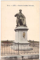 no 4. ATH statue Eug DEFACQX 1916 Feldpost Marcovici re255  SUPERBE