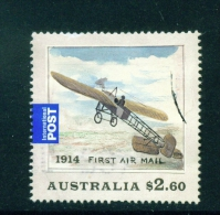 AUSTRALIA  -  2014  First Airmail Flight  $2.60  International Post  Used As Scan - 2010-... Elizabeth II