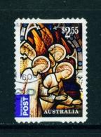 AUSTRALIA  -  2014  Christmas  $2.55  International Post  Self Adhesive  Used As Scan - 2010-... Elizabeth II