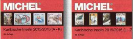 Amerika A-Z Band 2/1+2 Michel Katalog 2015/16 Neu 168€ Antigua Bahamas Grenada Haiti Kuba Lucia Nevis Turks Vincent - Alte Papiere