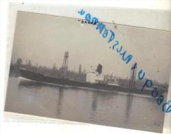 """Photo Ancienne Cargo Navire Bateau Identifié """" Dakar """" Société Maritime Nationale 1947 Davie Levis 1965 Kwong Shun 1967 - Bateaux"""