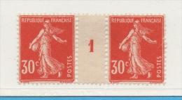FRANCE - N° Yvert 160 - Millésime 1 - Millésimes