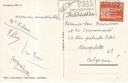 GUILLAUME TELL-ARBALETE-FREILICHTSPIELE INTERLAKEN--TIR A L'ARC - - Tir à L'Arc
