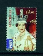 AUSTRALIA  -  2013  Coronation Anniversary  $2.60  International Post  Used As Scan - Oblitérés