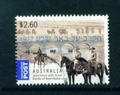 AUSTRALIA  -  2013  Battle Of Beersheba  $2.60  International Post  Used As Scan - Usati
