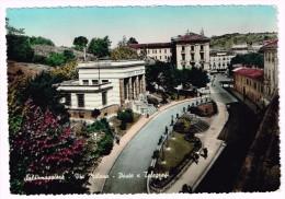 E3018 Salsomaggiore Terme (Parma) - Via Milano - Poste E Telegrafi / Viaggiata 1956 - Italien