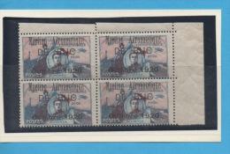 FRANCE - N° DALLAY  Poste Aérienne - Précurseur  LE BUC 1920 - Bloc De Quatre - Poste Aérienne