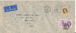 Great Britain Cover Sent Air Mail To USA London 26-7-1960 - 1952-.... (Elizabeth II)