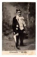 Carte Postale, Clown BIBI, Cirque - Artistas
