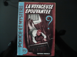 """Collection """"police Et Mystère"""" N° 58 """" La Voyageuse épouvantée"""" P.Vander - Ferenczi"""
