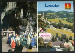 Calendrier  Kalender  1966  - Lourdes - Petit Format : 1961-70