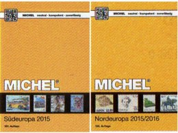 Süd/Nord-Europa Katalog 2015/2016 Neu 132€ MICHEL Band 3+5 Italy Fiume Jugoslavia Vatikan DK Eesti Soumi LIT Latvia NO S - Alte Papiere