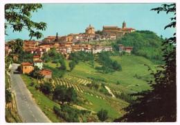 E3027 La Morra (Cuneo) - Veduta Generale E Vigneti Del Barolo - Panorama / Viaggiata 1974 - Andere Steden