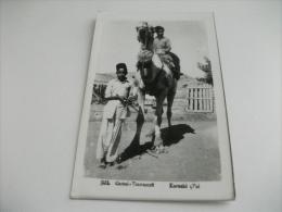 STORIA POSTALE ANNULLO ROSSO INDIA  CAMEL TRANSPORT KARACHI PAL - Costumi