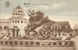 GENT-GAND-CHEVALIER BAYARD-TIR A L´ARC-EXPOSITION UNIVERSELLE 1913-WORLD FAIR - Tir à L'Arc