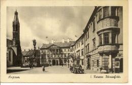 HU-0514- -- Sopron   Ferenc József-tér -- 1944 - Hongrie