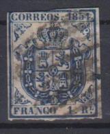 02087 España EDIFIL 34 O Catalogo 485,-€ - 1850-68 Reino: Isabel II