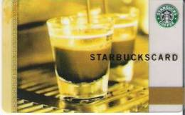 Amerika  Starbucks Card Kaffee Div. Backside  2006-6034 - Gift Cards