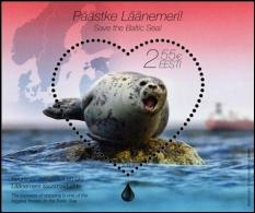 Protection Of The Baltic Sea Natural Environment Estonia 2015 MNH Sheet - Estonia