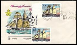 ARGENTINIEN 1970 - Segelschiff / Tag Der Flotte - FDC - Schiffe