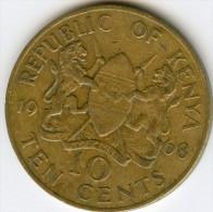Kenya 10 Cents 1969 KM 11 - Kenia