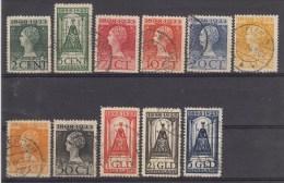 Nr 121/131, NVPH = 520 € (B002) - 1891-1948 (Wilhelmine)