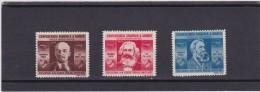 1945 Michel  861-863 MNH, Yvert833-835, Scott B273-B265        27 - Usati