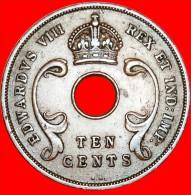 ★EDUARD VIII: EAST AFRICA ★ 10 CENTS 1936KN! LOW START★NO RESERVE! - Colonie Britannique