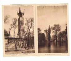 LOT DE 4 CARTES: EXPOSITION COLONIALE INTERNATIONALE  PARIS 1931 - Mostre