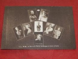 La Famille Royale De Belgique   - Roi Albert I , Reine Elisabeth Et Les Enfants Royaux - Koninklijke Families