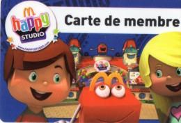 CARTE DE FIDELITE  HAPPY STUDIO  Carte De Membre - Francia