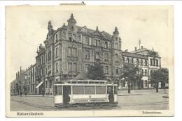 ///  CPA - Allemagne - KAISERSLAUTERN - Kaiserstrasse - Tram   // - Kaiserslautern