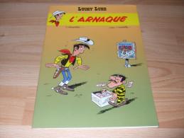 Morris - Goscinny - Lucky Luke - L Arnaque - BD Publicitaire - Pub - Lucky Luke