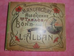 BEL   ALBUM  :   MANUFACTURE  ALGERIENNE  de  TABACS BONE   avec Photographies, fait en 1913 � CONSTANTINE -