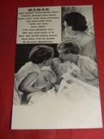 """S. M. La Reine Astrid  -  """" Maman , Quel Miracle Vivant Qu´une Mère ! ... """" - Koninklijke Families"""