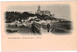 Carte Postale Ancienne De  FUENTERRABIA - EL DESEMBARCADERO - Espagne