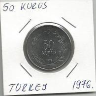 B4 Turkey 50 Kurus 1976. BU - Turquia