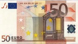 VF BILHETE 50 EUROS PORTUGAL H004  E4 UNC - EURO
