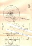 Original Patent - William Lee In London , 1886 , Bicycle ,  Fahrrad , Fahrräder !!! - Transportation