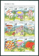 1994 Gambia Funghi Mushrooms Champignons Block MNH** D160 - Gambia (1965-...)