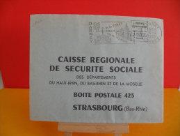 Flamme - 88 Vosges, Darney, Des Villes D´eau - 5.4.1965 - Marcophilie (Lettres)