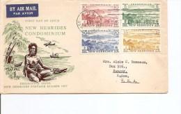 Nouvelles -Hébrides ( FDC De 1957 à Voir) - English Legend